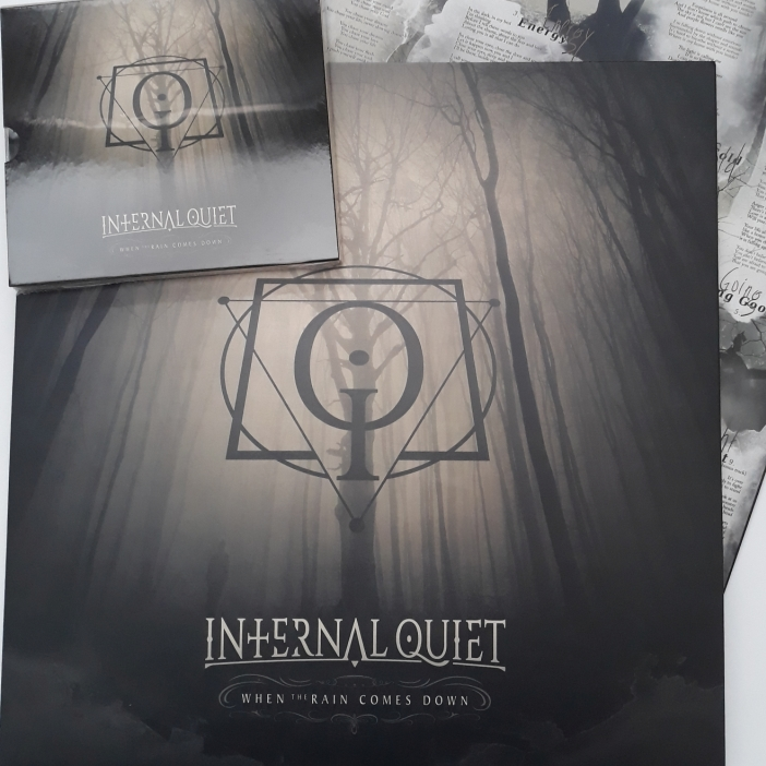 Internal Quiet 'When The Rain Comes Down' Black Vinyl 180 g