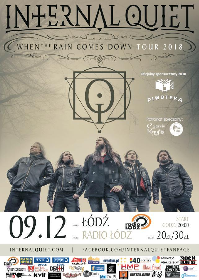 Internal Quiet w Radio Łódź – zostały ostatnie bilety!